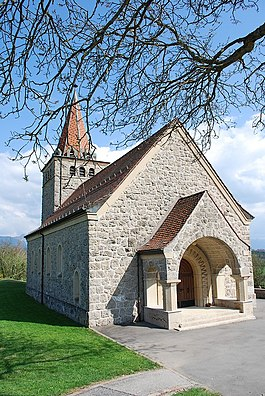 The chapel of Saint Nicolas at Granges (Veveyse)