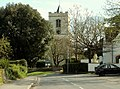 Grantchester's parish church as seen from the High Street - geograph.org.uk - 1243190.jpg