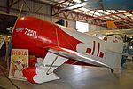 Granville Gee Bee R-1 (full size mock-up) 'NR2100 - 7-11' (26583819930).jpg