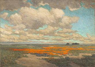 Granville Redmond - Image: Granville Redmond A Field of California Poppies