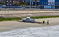 Gravelines, estuary of the river Aa into the North Sea, boat on ground-7882.jpg