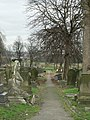 Graves in Hunslet Cemetery - geograph.org.uk - 144642.jpg