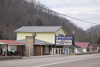 Greenwood, Boone County, West Virginia - Scene along West Virginia Route 85
