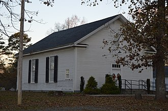 National Register of Historic Places listings in Caswell County, North Carolina - Image: Griers Presbyterian Church