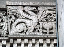 Griffin with a Cauldron at the Court House (Pittsburgh, PA).jpg