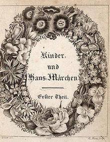Grimm's Kinder- und Hausmärchen, Erster Theil (1812).cover.jpg