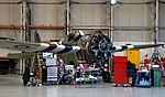 Grumman Wildcat maintenance, Imperial War Museum, Duxford, May 19th 2018. (46768678331).jpg