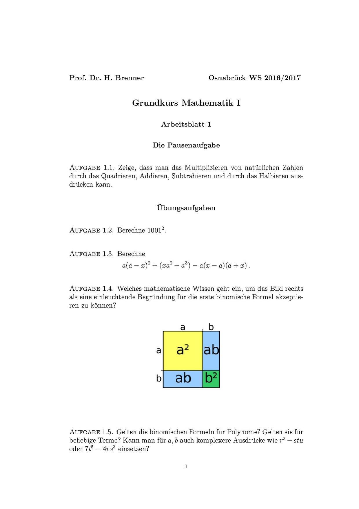 Schön Grundlegende Mathematische Tatsache Arbeitsblatt Galerie ...