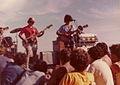 """Grupo """"The Morgan"""" tocando en La Olla, Punta de Este 3.jpg"""
