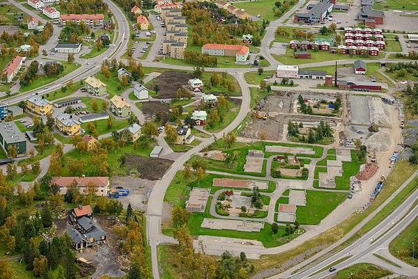 Kiruna stadsomvandling skapad av ArildV.