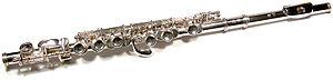 Treble flute - Myall-Allen G Treble Flute.