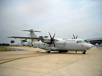 Guardia di Finanza - Image: Guardia di Finanza ATR 42