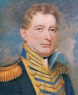William Brown, Argentine national hero of the War of Independence, considered the father of the Argentine Navy. Guillermo Brown, por Henry Herve.jpg