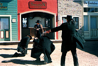 O.K. Corral (building) - Re-enactment of the Gunfight at the O.K. Corral