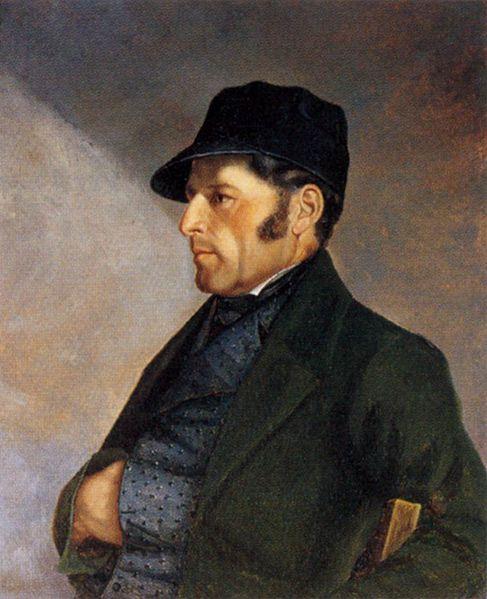 Portrait de Régis Courbet (1840), collection particulière - Cultea