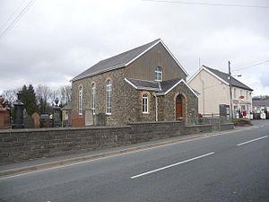 Gwyddgrug - Gwyddgrug Independent Chapel in February 2009