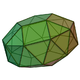 Gyroelongated pentagonal bicupola