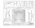 H. V. Bronson House, Route 303, Peninsula, Summit County, OH HABS OHIO,77-PEN,1- (sheet 4 of 5).png