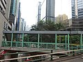 HK Bus 2A tour view Wan Chai 東惠商業大廈 Tung Wai Commercial Building Gloucester Road footbridge Oct-2015 Fleming Road.JPG