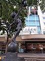 HK CWB 銅鑼灣 Causeway Bay 高士威道 66 Causeway Bay Road 香港中央圖書館 Hong Kong Central Library flagpoles October 2019 SS2 01.jpg
