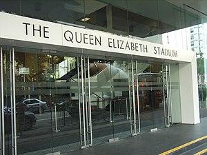 Queen Elizabeth Stadium - The Queen Elizabeth Stadium, no.18 Oi Kwan Road, Wanchai, Hong Kong