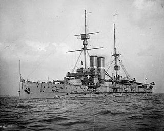 HMS <i>Britannia</i> (1904) King Edward VII-class battleship