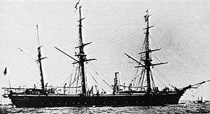 Osprey-class sloop - Cormorant c.1878