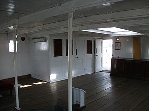 HMS Gannet 1878 captains cabin.JPG