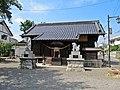 Haiden of Azumayanuma-jinja shrine.JPG