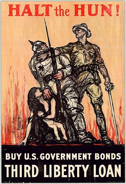 File:Halt the Hun! Buy U.S. government bonds, third liberty loan (12307882665).jpg