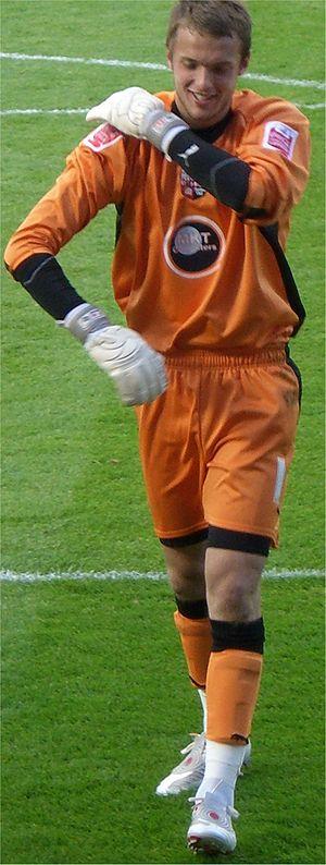 Ben Hamer - Hamer playing for Brentford in 2008