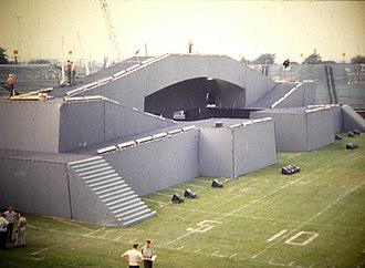 Canadian Armed Forces Tattoo 1967 - Fort ready for the show