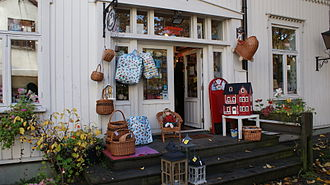 Toy store - A shop specializing in homemade toys, in Oslo
