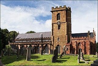 St Marys Church, Handsworth Church in England