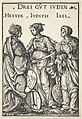Hans Burgkmair I, Hester, Judith and Jael, 1516, NGA 30650.jpg