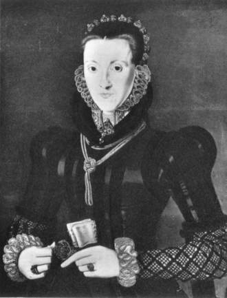 James Stewart, 1st Earl of Moray - Agnes, Countess of Moray by Hans Eworth