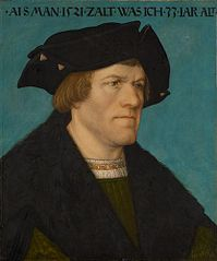 Portrait of a beardless man