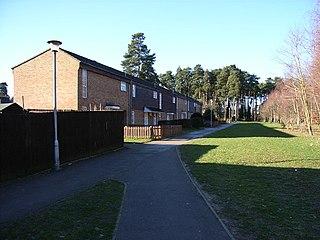 Hanworth, Bracknell Human settlement in England