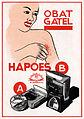 Hapoes anti-itching powder ad, Moestika 1940, p33.jpg