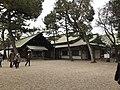 Haraedono Hall and Kaguraden Hall of Sumiyoshi Grand Shrine 2.jpg