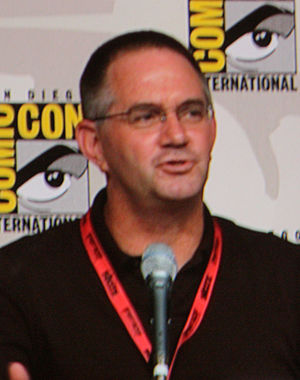 Hart Hanson - Hart Hanson at the 2009 San Diego Comic Con.