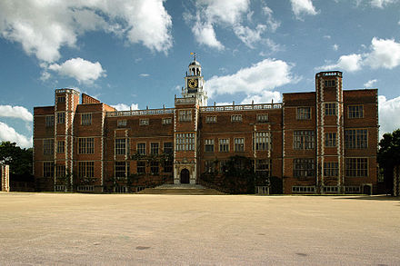 North facade Hatfield House
