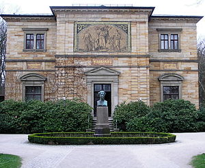 Friedelind Wagner - Wagner family home, Haus Wahnfried where Friedelind grew up.