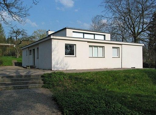 Haus am Horn, Weimar (Westansicht)