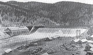 Hauser Dam dam