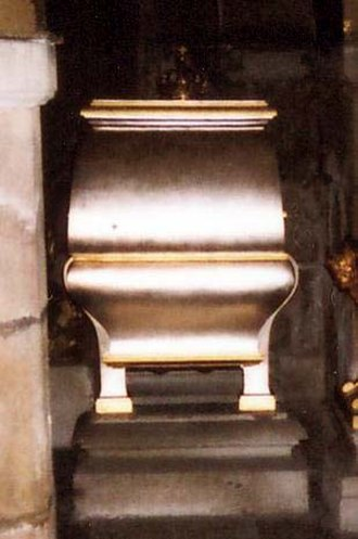 Hedwig Eleonora of Holstein-Gottorp - Hedwig Eleanor's coffin at Riddarholm Church