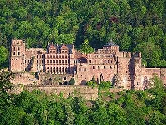 Heidelberg Castle - Image: Heidelberg Schloß