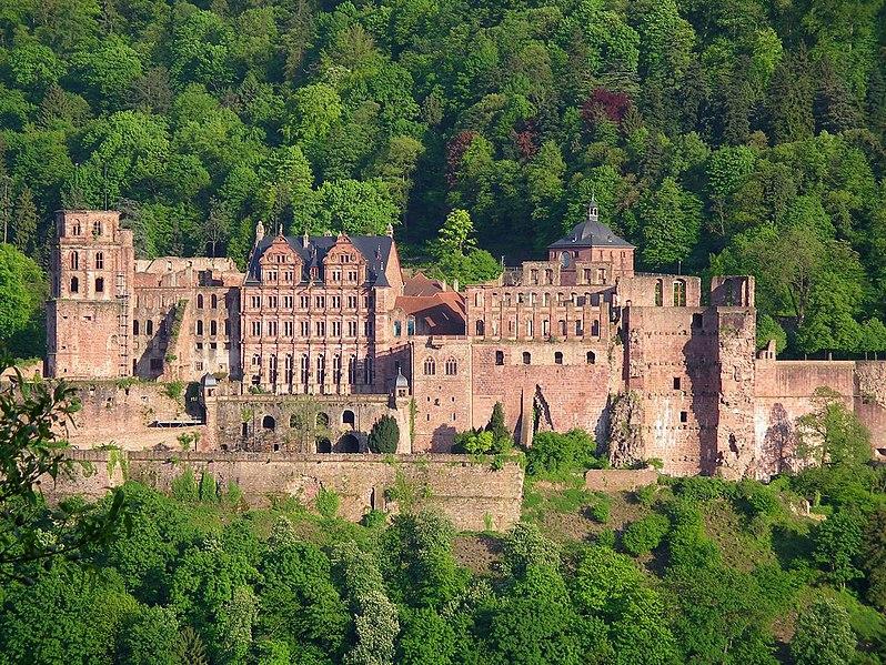 Heidelberger Schloss (Bildquelle: Wikipedia.org)