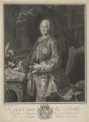 Jean-Joseph Balechou - Image: Heinrich Grafvon Bruehl