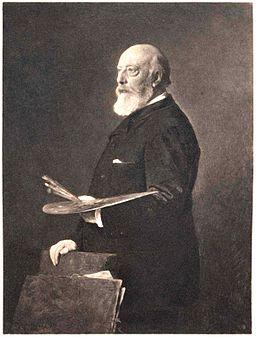 Heinrich von Angeli Professor Andreas Achenbach